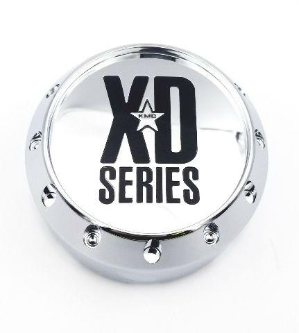 KMC XD Series Chrome 8 Lug Center Cap XD779 XD786 XD795 464K131-2