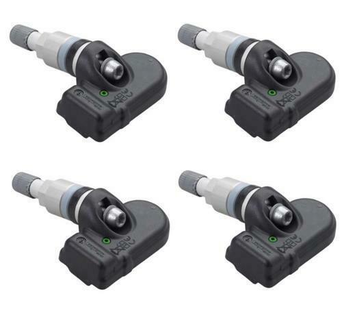 Set Of 4 Alligator Tpms Tire Pressure Sensor 315mhz Metal