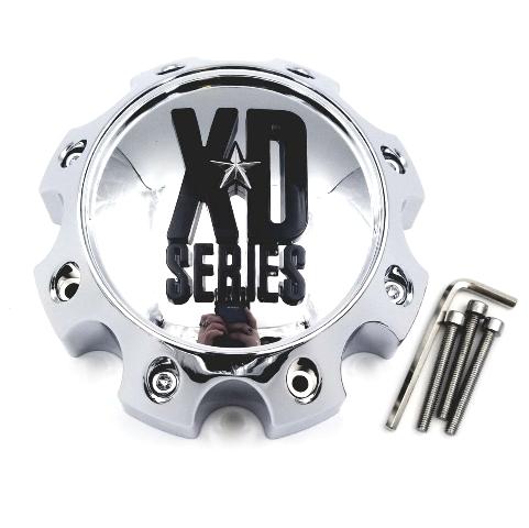 KMC XD Series 8 Lug Chrome Wheel Center Cap 1079L170 XD798 801 810 796 807 CRANK