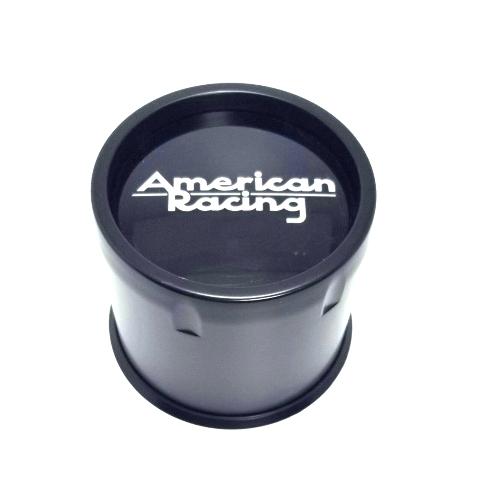 American Racing Satin Black Push-Thru Wheel Center Hub Cap AR923 AR969 8 Lug
