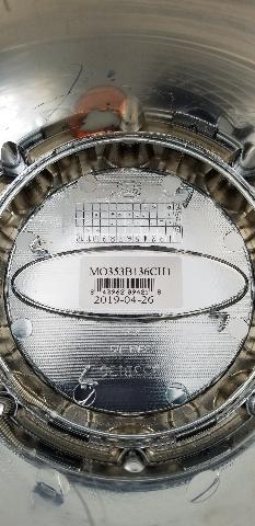 Moto Metal Chrome Wheel Center Cap Push Thru For 8 Lug