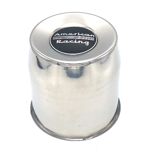 American Racing 1425002SS Stainless Steel Push Thru Center Cap Wheel Caps 4.25