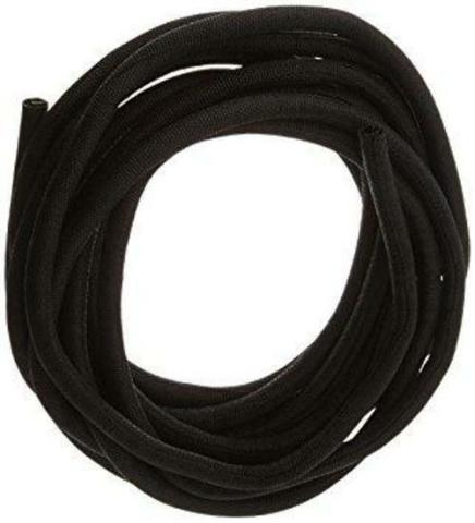 Classic Braid Hose and Wire Sleeve 1/2 in Diameter 10 ft Split Knitted Cloth B..