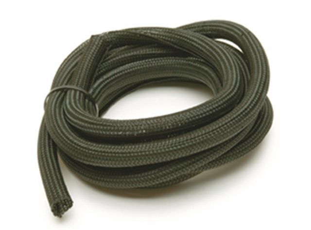 Power Braid Hose and Wire Sleeve 1/2 in Diameter 10 ft Split Braided Plastic B..