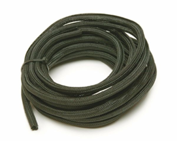 Power Braid Hose and Wire Sleeve 1/4 in Diameter 20 ft Split Braided Plastic B..