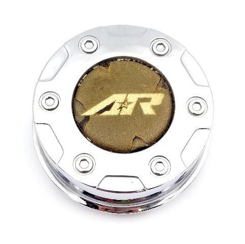 American Racing Chrome Wheel Center Cap for AR329 AR629 Crush