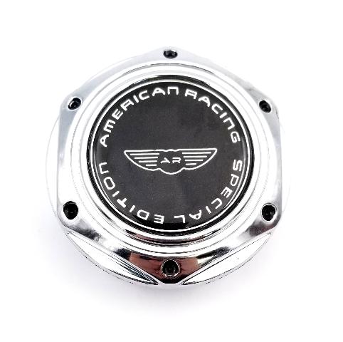 American Racing Special Addition Chrome Wheel Center Cap AR105M AR605MS AR 690