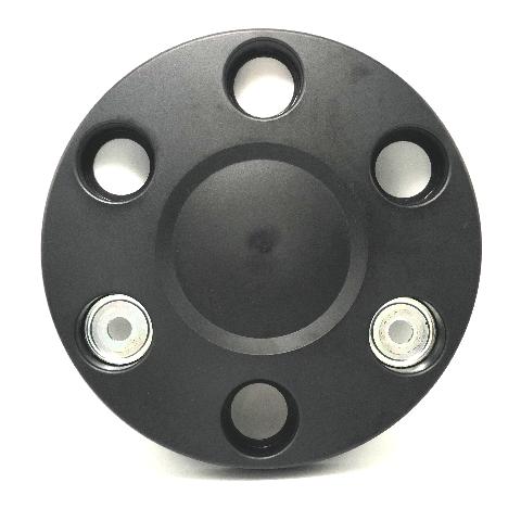 """Mercedes Benz 6 Lug Wheel Hub Cap Cover 10.75"""" Black A9064001025 ZGS001 Q001"""