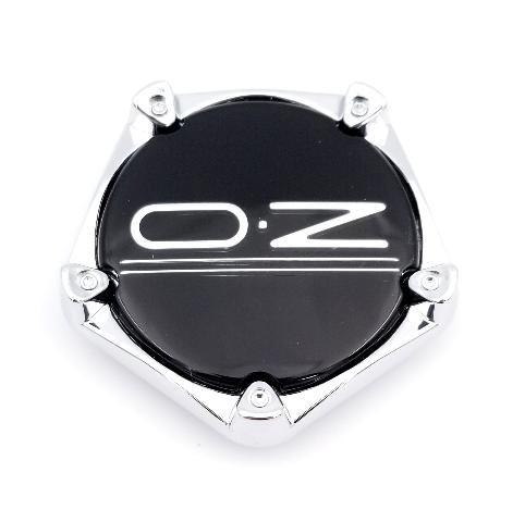 OZ Racing Black Snap In Center Cap fits Adrenalina, Pentagon Part# 81310484
