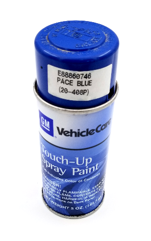 GM Vehicle Care 5oz OEM Touch-Up Spray Paint (20-408P) Pace Blue E88860746