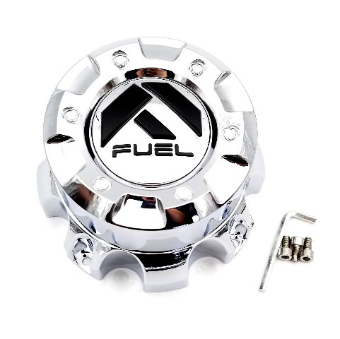 Fuel Chrome Bolt On 8 Lug Center Cap fits FF09D Wheels Part# 1001-60