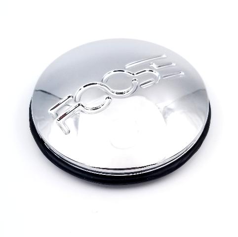 Foose Snap In Chrome Wheel Center Cap fits Speedster Nitrous Spank Part# 1000-39