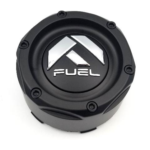 Fuel Offroad Matte Black 8 Lug Wheel Center Cap P/N: 1003-50SMB
