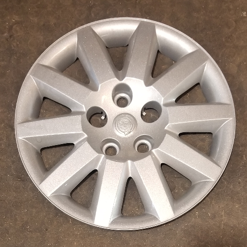 "2007-2010 OEM Chrysler Sebring 16"" Silver Hubcap Wheel Cover Part# 05272553AC"