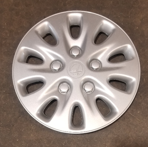 "1996-1998 OEM Plymouth Breeze 14"" Silver Hubcap Wheel Cover Part# 4764089"