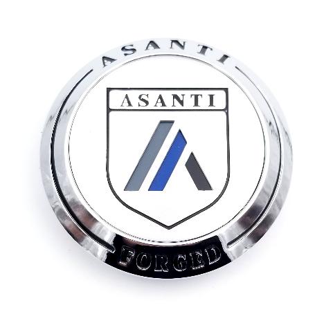 Asanti Chrome Snap In Center Cap fits AF/CX/FS/VA Wheels Part# AF-CAP2CH