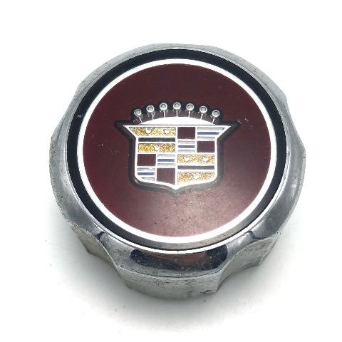 "Cadillac Cimarron 13"" Wheel Center Hub Cap 1983-1987 OEM 2-7/8"" OD Chrome Maroon"