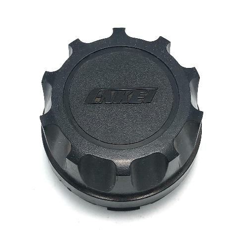 "Enkei Wheel Center Hub Cap 2.75"" OD Black Snap In"