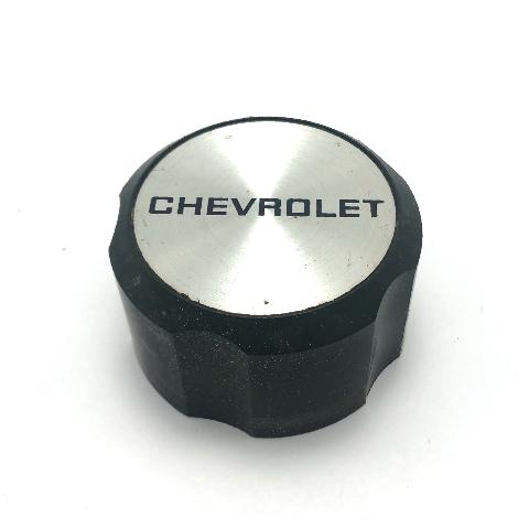 Chevy Cavalier Center Hub Cap 1988-1990 Machined & Black 22535248