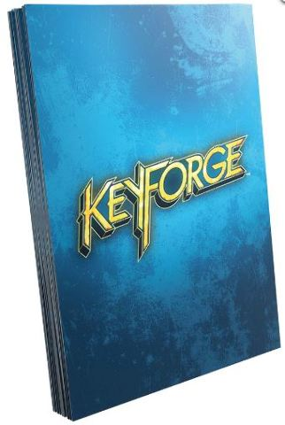 KeyForge: Logo Sleeves - Blue (40) Game Genic Sleeve Size 66x92mm