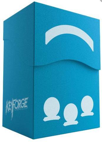 KeyForge: Gemini Deck Box - Blue w/ Drawer for Accessories