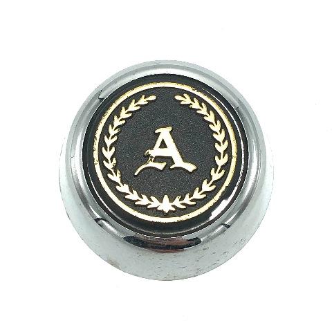 """Appliance Wheel Center Hub Cap 2.75"""" OD Bolt On Chrome Black Gold Cresent 00485"""