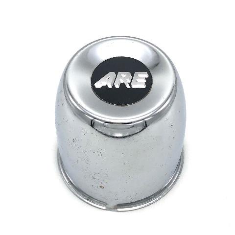 "American Racing ARE Metal Push Thru Center Hub Cap 3.27"" Chrome 898015"