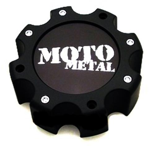 Moto Metal 8 Lug Wheel Center Cap Satin Black for 961 964 965 Wheels 845L172S3