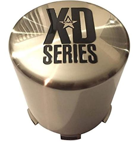 KMC XD Series Machined 5X135 & 6X135  XD122 Push Thru Center Cap P/N: 1001356