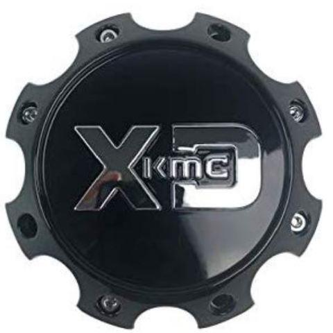 KMC XD Gloss Black 8Lug Center Cap fit XD835 XD834 XD831 Wheels 1079L170GB1-H63
