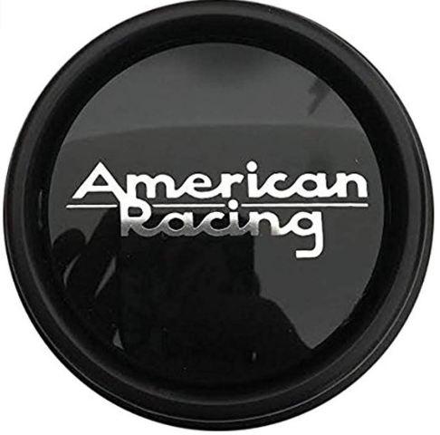 American Racing Satin Black 5/6 Lug Center Cap fits AR172 AR901 AR910 AR62 Wheels