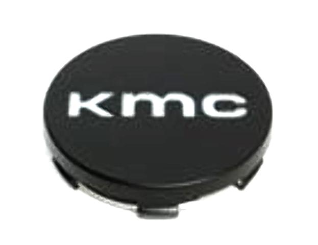 KMC Satin Black Snap On Center Cap for KM686 Wheels P/N: 1934K65-S1