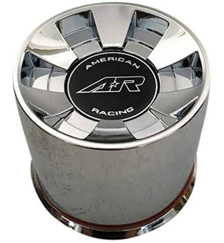 American Racing Chrome 8 Lug Push Thru Center Cap for AR910 Wheels P/N1515000019