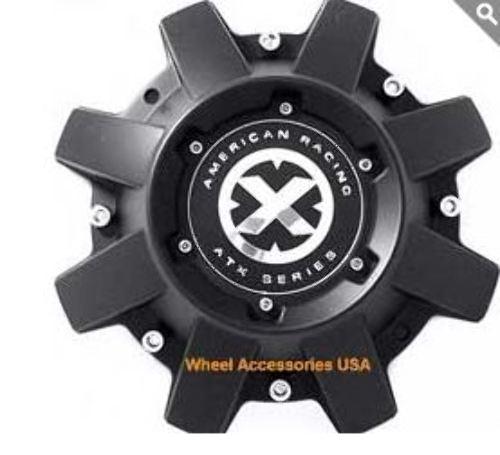 American Racing ATX Satin Black 8 Lug for ATX1937 Wheels P/N AX193CAP