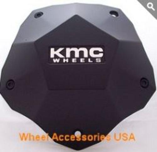 KMC Matte Black Bolt On Center Cap for KM674 Clone Wheels 398L212YB003