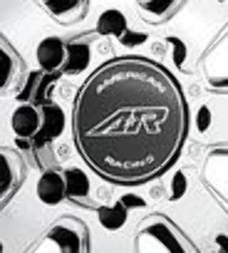 American Racing ATX Chrome 8 Lug Center Cap for AR708 Wheels P/N M564AR