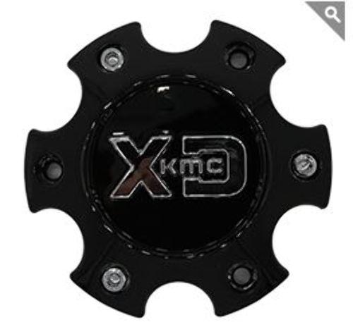 KMC XD Gloss Black Bolt On 6x5.5 Center Cap for XD828/200/201/203/824/826 Wheels