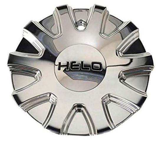 Helo Chrome Bolt On Center Cap for HE880 Wheels P/N 928C01