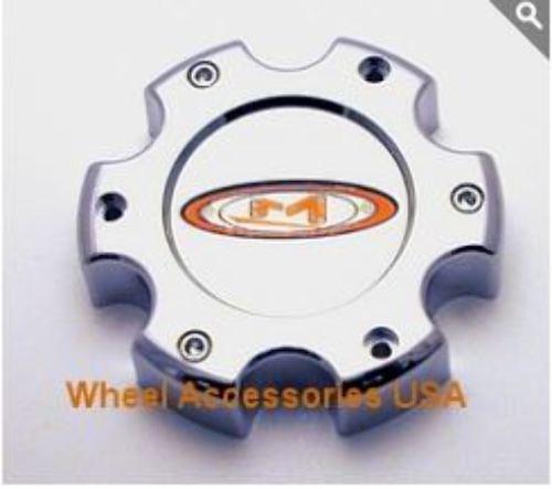 Moto Metal Chrome Bolt On 6Lug Center Cap for MO955/MO956 Wheels P/N 845L145
