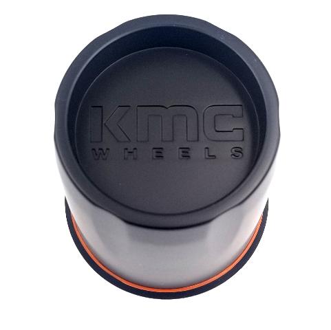 KMC Satin Black Push Thru Center Cap 5/6 Lug for XD301 XD300 Wheels