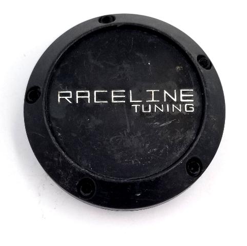 Raceline Tuning Matte Black Snap-In Wheel Center Cap P/N: 7125-CAP