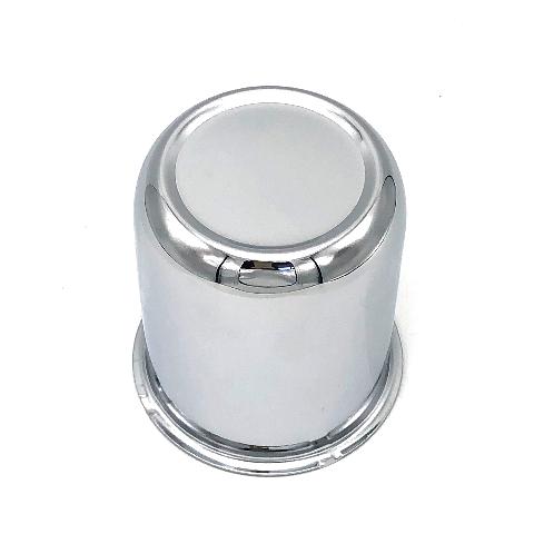 "Topline Chrome Push Thru Center Hub Cap 2.67"" Diameter for 4 & 5 Lug Wheels"