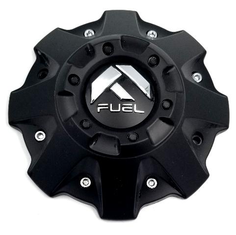 Fuel Offroad Matte Black Center Cap 5/6/8Lug for D573/D530/D516/D536/D508/D586