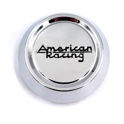 American Racing Chrome VN508/VN509 Snap-On 5/6-Lug Wheel Center Cap T149K70-C1