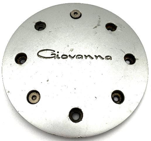 Giovanna Aftermarket Silver Bolt-On Wheel Center Cap