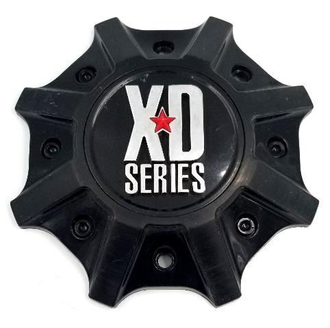 "KMC XD Series Gloss Black Wheel Center Cap fits 20"" 22"" XD825 BUCK P/N: M-1015GB"