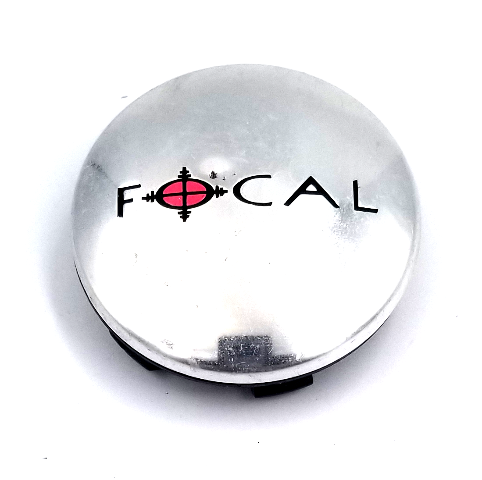 Focal Chrome Snap In Center Cap for 455 F-55 Wheels P/N: A89-9002S