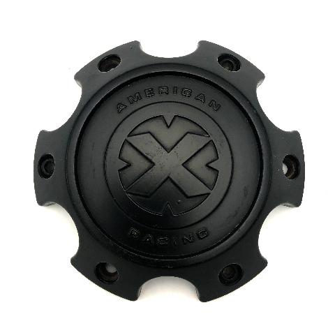 American Racing ATX Satin Black 6 Lug 6x139.70 Wheel Center Cap fits AX201