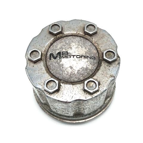 "MB Motoring Wheel Center Hub Cap 3.25"" Diameter Snap In Chrome BC-582"