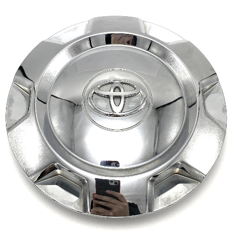 "2014-2017 Toyota Tundra Chrome Snap In Center Hub Cap 7.75"" OD 4260B-0C060 OEM"